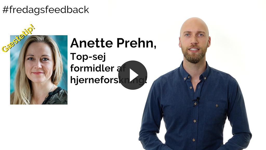 Oppebær modtagerens status – Gæstetip med Anette Prehn