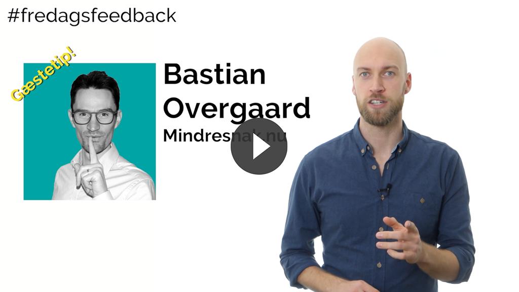 Skab plads til feedback på mødet